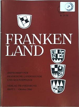 Hermann Kesten (1900-1996) Weltbürger und Jahrhundertzeuge; in: Heft 5 Frankenland, Zeitschrift für fränkische Landeskunde und Kulturpflege;