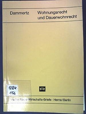 Wohnungsrecht und Dauerwohnrecht: Dammertz: