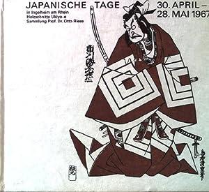 Japanische Tage in Ingelheim am Rhein. 30.April: Riese, Otto: