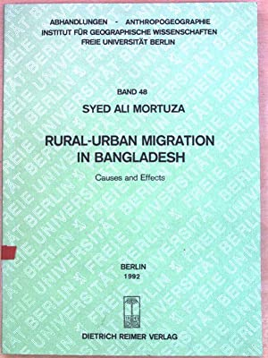 Rural-urban migration in Bangladesh : causes and: Mortuza, Syed Ali: