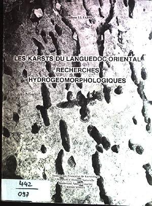 Les karsts du languedoc oriental recherches hydrogeomorphologique Association Française de ...