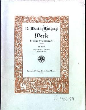 D. Martin Luthers Werke: kritische Gesamtausgabe 55.
