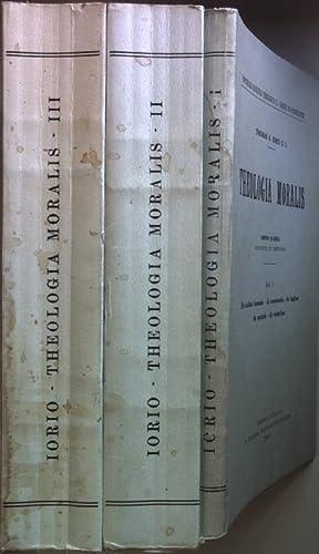 Theologia Moralis (3 vols.cpl./ 3 Bände KOMPLETT): Iorio, Thomas A.: