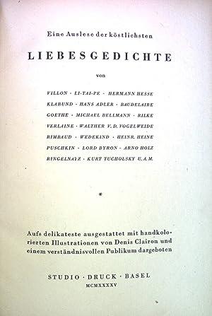 Hermann Hesse Liebesgedichte Abebooks