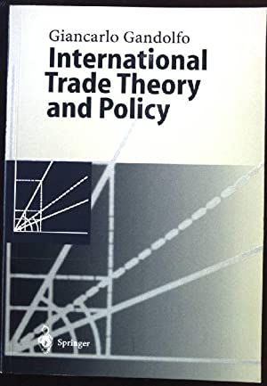 International Trade Theory and Policy: Gandolfo, Giancarlo: