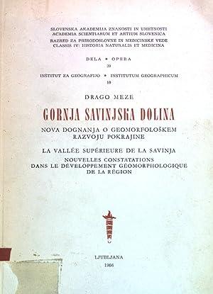 Gornja Savinjska Dolina Academia Scientiarum et Artium: Meze, Drago: