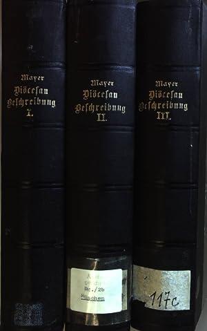 Statistische Beschreibung des Erzbisthums München-Freising (3 Bände KOMPLETT) - Bd.1: Die Decanate ...
