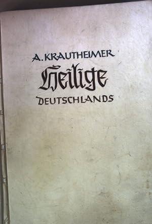 Heilige Deutschlands (nummerierte Ausgabe: Nr. 19) - mit signierten Holzschnitten von Ludwig Barth....
