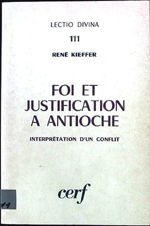 Foi et justification a antioche Lectio Divina: Kieffer, René: