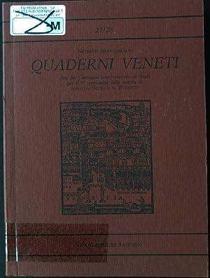 Quaderni Veneti 27/28 Gennaio/Dicembre 1998: Padoan, Giorgio: