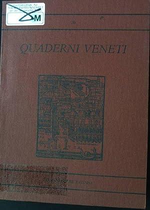 Quaderni Veneti ; Per il Bicentenario goldoniano;: Padoan, Giorgio: