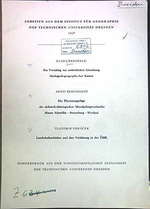 Ein Vorschlag zur einheitlichen Gestaltung ökologisch-geographischer Karten: Breitfeld, Klaus, Arnd