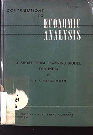 A Short term Planning Model for India: Narasimham, N.V.A.: