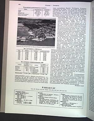 Paraguay; Sonderdruck aus: Grosser Herder Atlas;: Wilhelmy, Herbert: