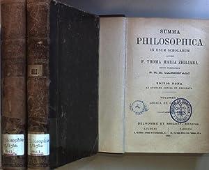 Summa philosophica in usum scholarum (3 vols.cpl./: Zigliara, Thoma Maria: