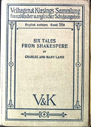 Six Tales from Shakespere Velhagen & Klasings: Lamb, Charles and