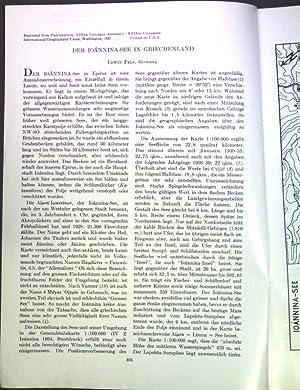 Der Ioannina-See in Griechenland;: Fels, Edwin: