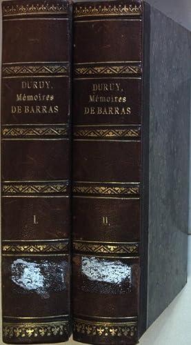 Memoires de Barras, membre du Directoire, publie: Duruy, George: