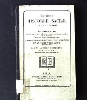 Epitome Historiae Sacrae: Lancelot, M.: