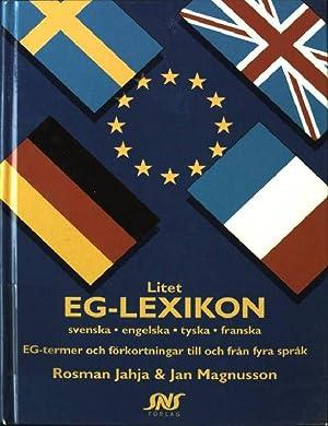 Litet EG-Lexikon: Jahja, Rosman und