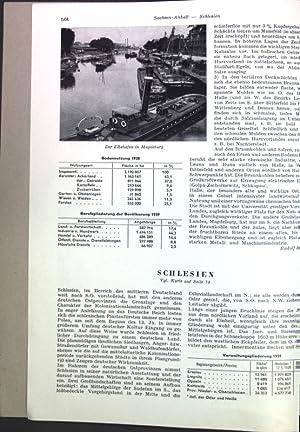 Schlesien; Sonderdruck aus: Grosser Herder Atlas;: Schwarz, Gabriele: