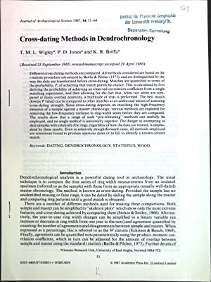 Cross-dating Methods in Dendrochronology;: Wigley, T. M.