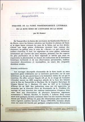 Exquisse de la flore phanérogamique littorale de: Debray, M.: