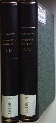 Wahrheit und Ordnung. Universitätspredigten (24 Hefte gebunden in 2 Bänden) - Heft 1 - 24.: ...