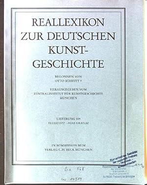 Reallexikon zur deutschen Kunstgeschichte; Teil: Lfg. 109