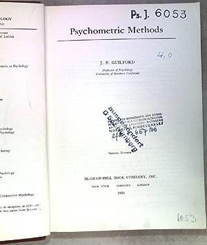 Psychometric Methods.: Guilford, J.P.: