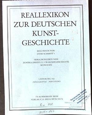 Reallexikon zur Deutschen Kunstgeschichte, Lieferung 110 Fons: Schmitt, Otto: