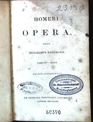 Homeri Opera: Baeumlein, Guilelmus: