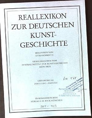 Reallexikon zur Deutschen Kunstgeschichte, Lieferung 111 Fortitudo: Schmitt, Otto: