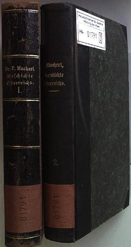 Kurzgefasste Geschichte Österreichs für das Volk (2 Bände KOMPLETT): Macherl, Peter: