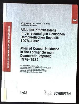 Atlas der Krebsinzidenz in der ehemaligen Deutschen: Mehnert, Wolf Heiger: