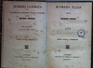 Homeri Ilias: PARS II: Iliadis XIII- XXIV.: Dindorf, Guilielmus: