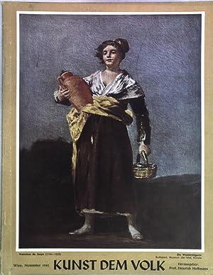 Francisco de Goya; in: 13. Jg. Folge: Hoffmann, Heinrich (Hrsg.):