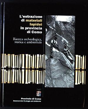 L'estrazione di materiali lapidei in provincia di: Balzarini, Andrea, Fabio