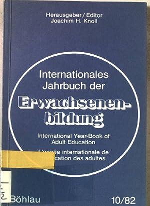 Internationales Jahrbuch der Erwachsenenbildung. BAND 10. u.a.: Knoll, Joachim H.:
