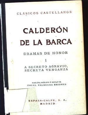 Calderon de la Barca Dramas de Honor