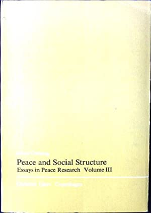 Essays About Peace  Romefontanacountryinncom Essays About Peace Essays Peace Research By Johan Galtung Peace  Criterion Online Writing Service also Research Essay Proposal  Essay On Terrorism In English