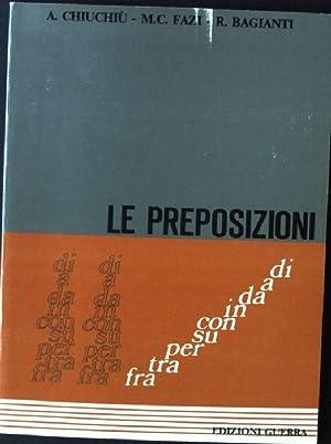 Le Preposizioni: Chiuchiu, A., M.C.