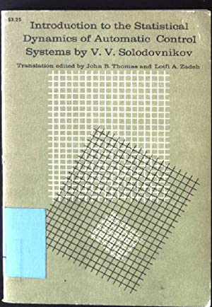 Introduction to the Statistical Dynamics of Automatic: Solodovnikov, V.V.: