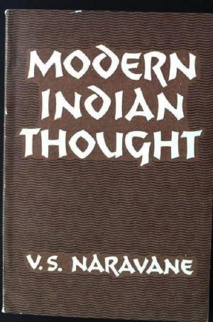 Modern Indian Thought, A Philosophical Survey: Naravane, V.S.:
