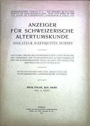 Hans Heinrich Geßner, ein unbekannter Meister aus: Benziger, C.: