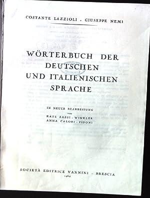 Wörterbuch der Deutschen und Italienischen Sprache: Lazzioli, Costante und
