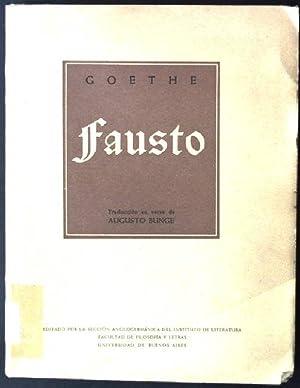 Goethe - Fausto: Bunge, Augusto: