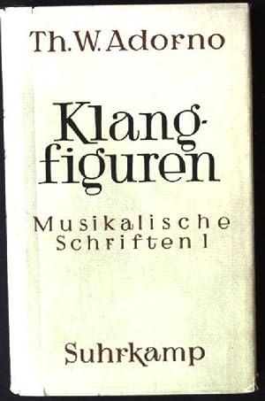 Klangfiguren, Musikalische Schriften 1: Adorno, Theodor W.:
