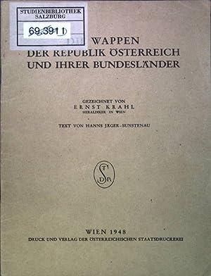 Die Wappen der Republik Österreich und ihrer: Krahl, Ernst und