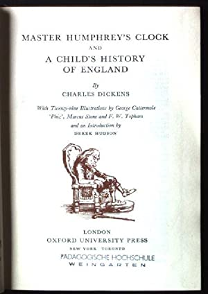 Master Humphrey's Clock and a Child's History: Dickens, Charles: